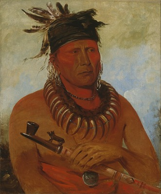 Háw-che-ke-súg-ga, He Who Kills the Osages, Chief of the Tribe