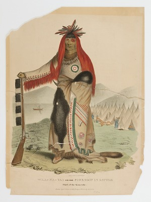 Waa-na-taa, Foremost in Battle, Chief of the Sioux Tribe