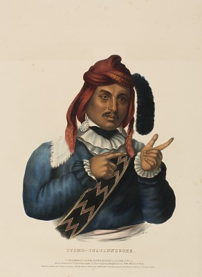 ITCHO-TUSTINNUGGEE, from History of the Indian Tribes of North America