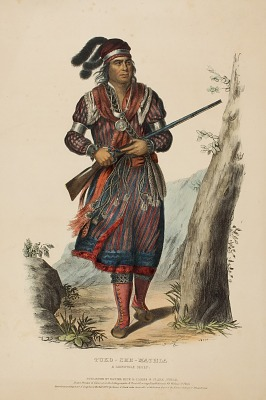 TUKO-SEE-MATHLA. A SEMINOLE CHIEF., from History of the Indian Tribes of North America