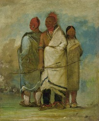 Three Fox Indians