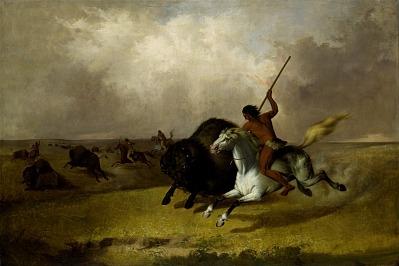 Buffalo Hunt on the Southwestern Prairies