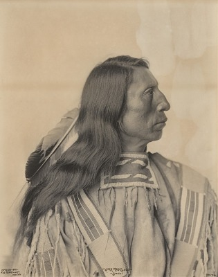 Portrait of Jack Red Cloud, a Sioux Indian