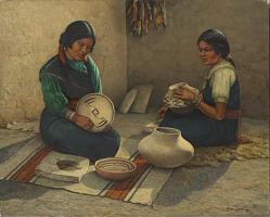 Hopi Pottery Painters