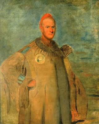 Theodore Burr Catlin, in Indian Costume