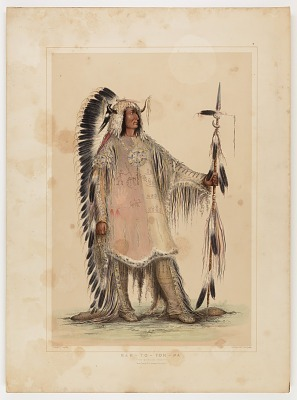Mah-to-toh-pa, the Mandan Chief
