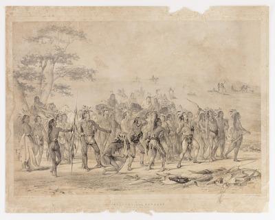 Archery of the Mandans--no. 24