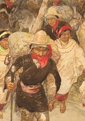 Caravan of Indians, Guatemala