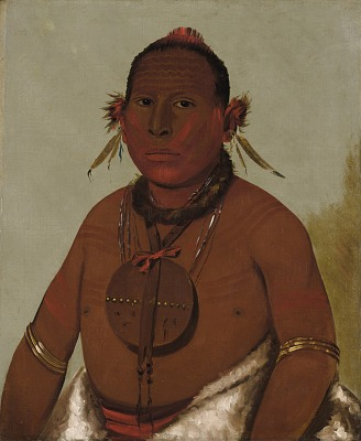 Wa-sáw-me-saw, Roaring Thunder, Youngest Son of Black Hawk