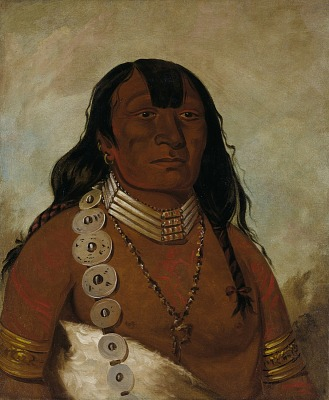 Téh-tóot-sah (better known as Tohausen, Little Bluff), First Chief