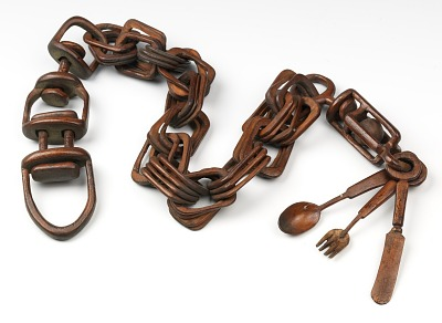 Chain with Knife, Fork, and Spoon