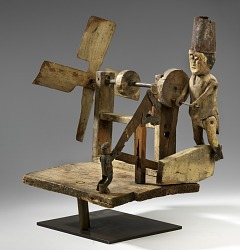 Whirligig with Men Sawing Wood