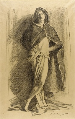 Study of a Young Man (Cloaked)