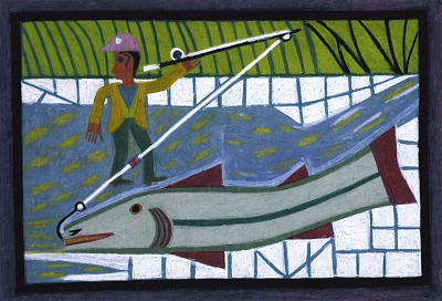 Man with Great Fish