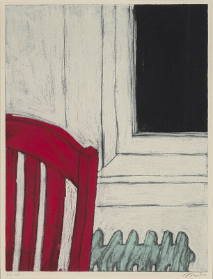 Untitled--Red Chair and Radiator