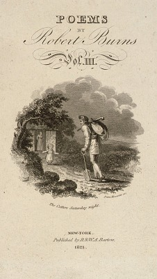 Poems by Robert Burns, Vol. III, Title Page