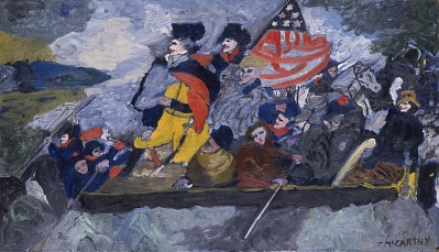 Washington Crossing the Delaware, Variation on a Theme #3