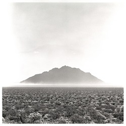 (Desert Landscape) Mountain near Death Valley Junction, California