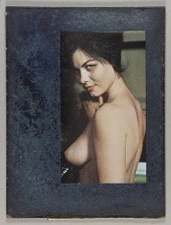 Untitled (nude female, bust-length and side view)