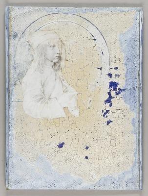 Albrecht Durer self-portrait--13 years (for Robert)