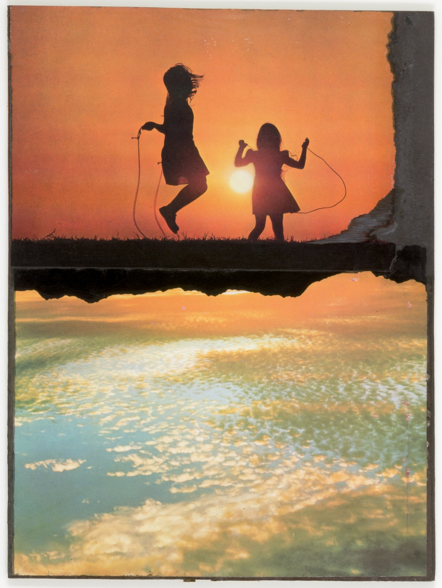 images for Untitled (two girls jumping rope)