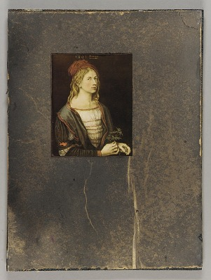 Untitled (unidentified painting of a young man)