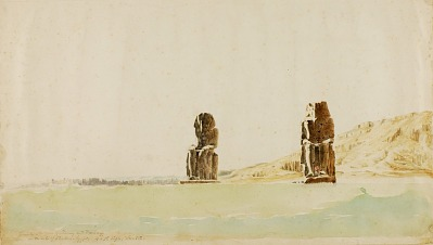 Statues at Memnon, Thebes