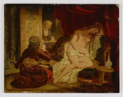 Oriental Princess after the Bath