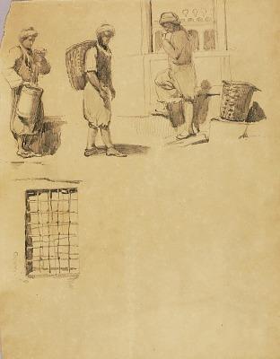 Peasant Figures