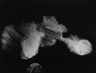 Antique Gun Firing