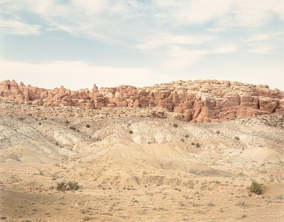 Garden of Eden, Arches N.P. Utah, from the portfolio Shadowless Places, Deserts of the Southwest