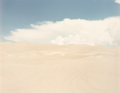 Sand Dune, Great Sand Dune N.M. Colorado, from the portfolio Shadowless Places, Deserts of the Southwest