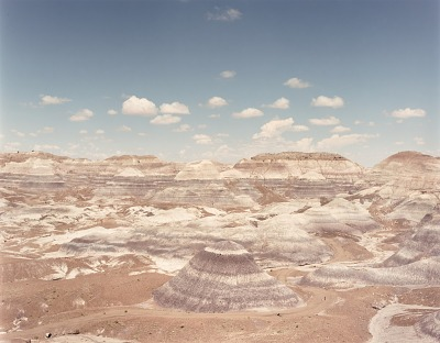 Blue Mesa, Petrified Forest N.P. Arizona, from the portfolio Shadowless Places, Deserts of the Southwest