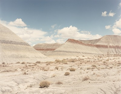 TeePees, Petrified Forest N.P. Arizona, from the portfolio Shadowless Places, Deserts of the Southwest