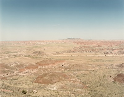 Painted Desert, Petrified Forest N.P. Arizona, from the portfolio Shadowless Places, Deserts of the Southwest