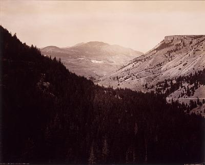 Gardner Canyon, Electric Peak