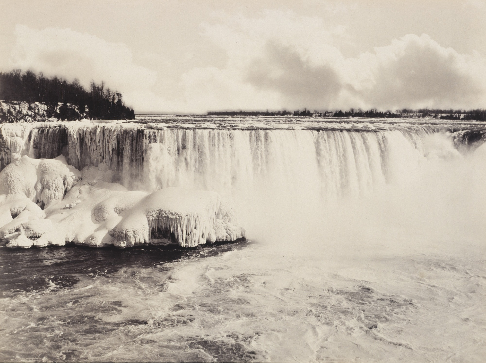 The Canadian Falls, Winter
