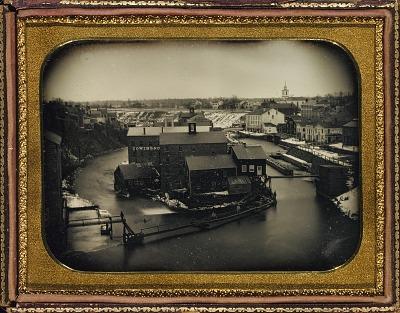 [Seneca Falls, New York (downstream)]