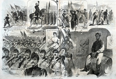 The Songs of the War, from Harper's Weekly, November 23, 1861