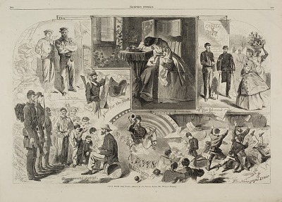 News from the War, from Harper's Weekly, June 14, 1862