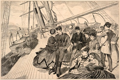 Homeward Bound, from Harper's Weekly, December 21, 1867