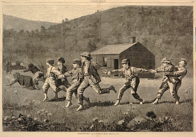 Snap-the-Whip, from Harper's Weekly, September 20, 1873
