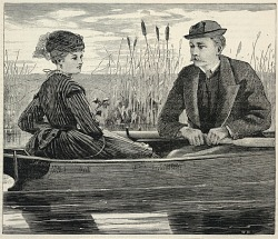 """""""All in the Gay and Golden Weather,"""" from Appletons' Journal of Literature, Science, and Art, June 12, 1869"""