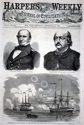 Flag-Officer Stringham, from Harper's Weekly, September 14, 1861