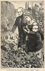 """""""I Call Them My Children--to Myself, Susan."""", from The Galaxy, October 1869"""