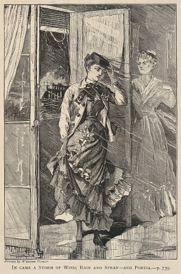 In Came a Storm of Wind, Rain and Spray--and Portia, from The Galaxy, December 1869