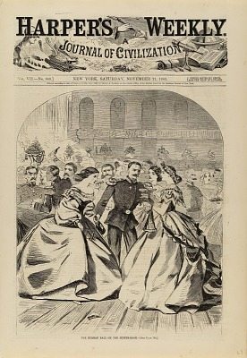 The Russian Ball--In the Supper Room, from Harper's Weekly, November 21, 1863
