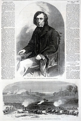 The Late Chief-Justice Roger B. Taney, from Harper's Weekly, October 29, 1864
