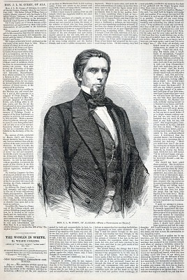 Hon. J. L. M. Curry of Alabama, from Harper's Weekly, February 18, 1860