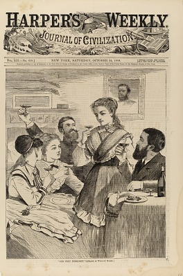 Our Next President, from Harper's Weekly, October 31, 1868